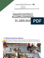 Accomplishments 2009 2010