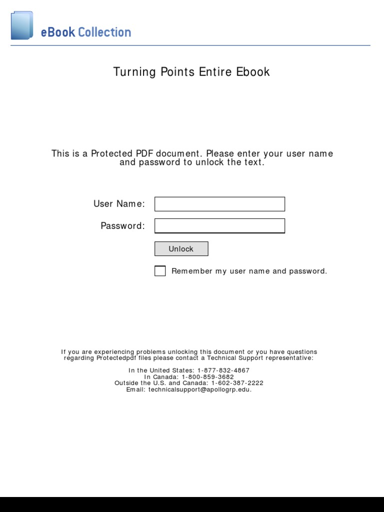 Turning points entire ebook 1537007043v1 fandeluxe Gallery