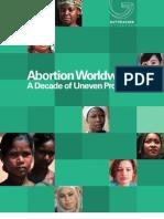 Aborto Mundo.guttmacher Institute