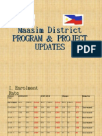 Maasim District Updates