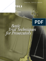 Basic Trial Techniques
