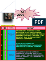 JUDUL KTI 2007