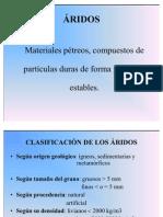 Clases de Aridos-AIEP