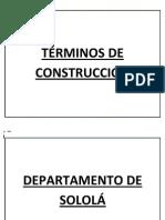 TÉRMINOS DE CONSTRUCCIÓN