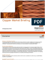 BHP Copper Marketing report 26 Sep 2010