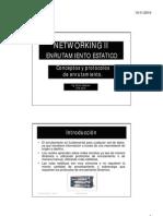 UNIDAD 6 (Enrutamiento Estático)