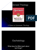 Condensed Theology, Lecture 45, Eschatology Part 01