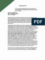 dbq sample essay