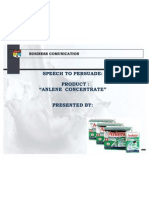 Speech to Persuade
