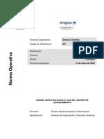 Manual de Uso Del Centro de Entrenamiento