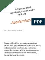 QUESTÕES de Academismo no Brasil