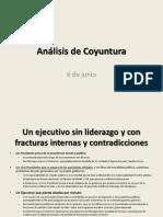 Análisis de Coyuntura - 6 de junio