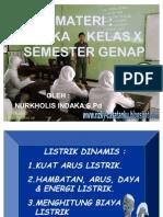 Presentasi Listrik-oleh Nurkholis Indaka, s.pd