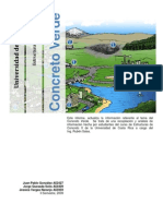 Tema 8. Concreto verde
