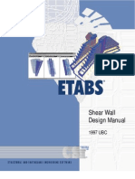 ETAB Shear Wall