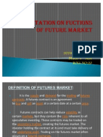 Presentation on functions of future contract