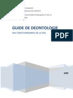 Guide de Deontologie