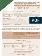 Impreso Prematricula
