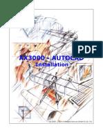 Ax3000-Autocad Setup Eng