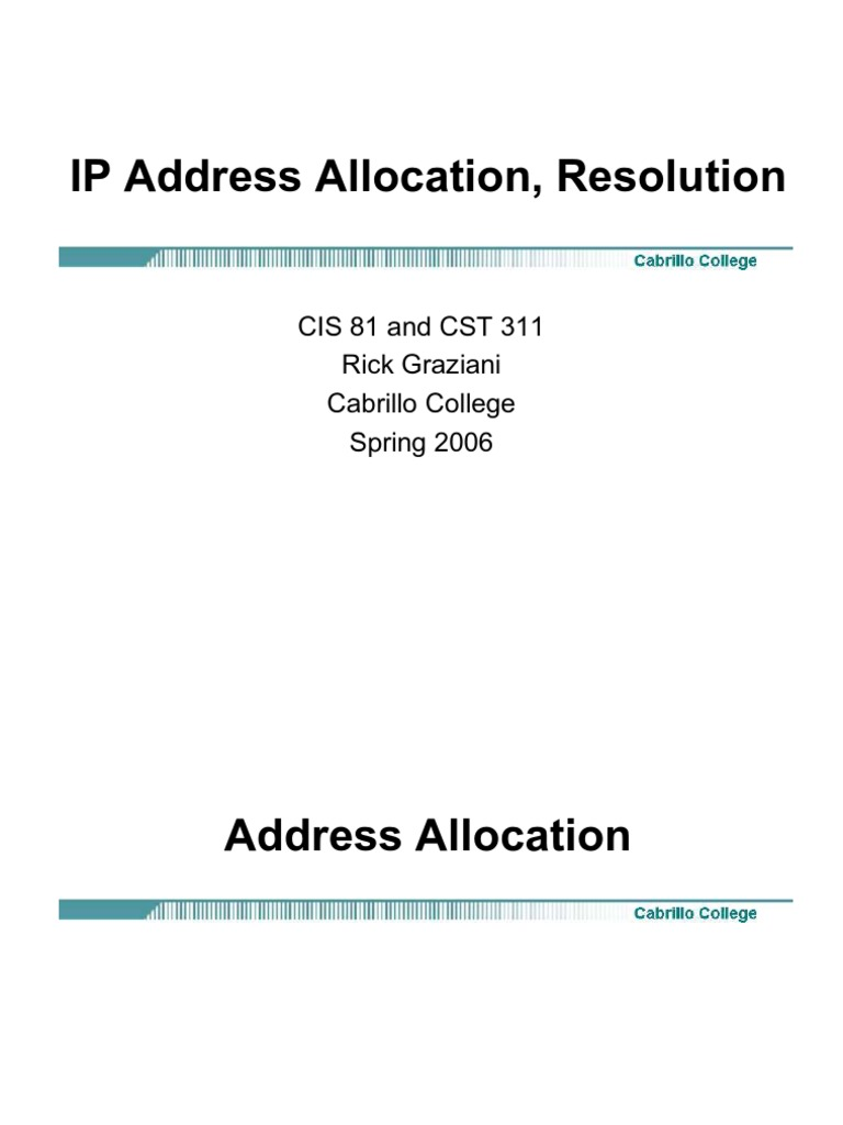 the use of the domain name system and ip addresses in computer technology