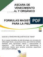 Claudia Gómez Rueda - Máscara y Fórmulas Magistrales