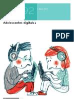 Adolescentes Digitales, Revista de estudios de Juventud 2011