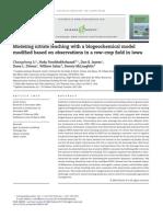 Modeling Nitrate Leaching With a Biogeochemical Model