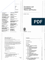 Bell Roger T Translation and Translating Theory and Prat