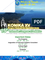 15th Indonesian Congress of Pediatrics