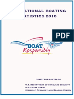 2010 Recreational Boating Statistics