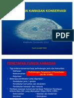 Kriteria Umum Penetapan Kawasan Konservasi1