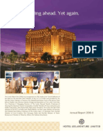 Annual Report of Hotel Leela 2011