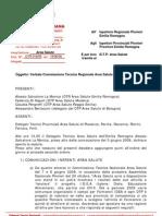 Verbale Commissione Regionale salute 14 giugno 2008