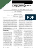 1 - Diagnóstico dos RSS no RS - 2004 (SILVA e HOPPE)
