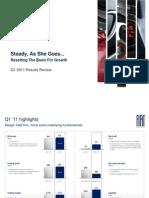 Presentation Fiat Spa Q1 2011 Results
