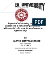Impact of Advertising on Brand