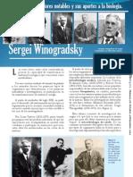 Sergei Winogradsky (Investigadores notables y sus aportes a la biología)
