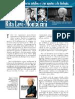Rita Levi-Montalcini (Investigadores notables y sus aportes a la biología.)