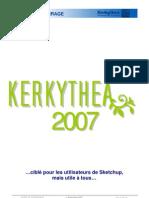 Kerkythea Tutoriel Demarrage Francais
