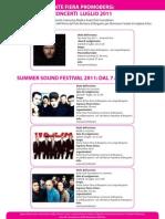 Concerti 2011