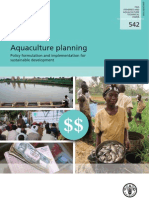 Aquaculture Policy and Planning