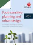 Food-Sensitive Planning and Urban Design