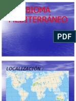 BIOMA MEDITERRÁNEO Pedro José