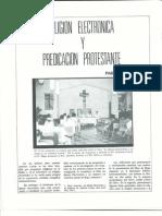 Religion electronica y predicacion protestante