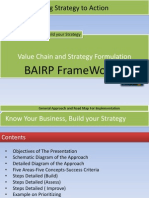 Value Chain Road Map-General Approach