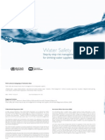 Water Risk Management-WHO