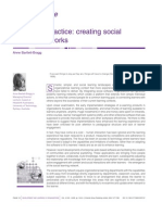 Reframing Practice Creating Social Learning Networks