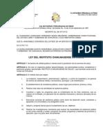 LEY DEL INSTITUTO CHIHUAHUENSE DE SALUD