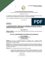 LEY DE LA UNIVERSIDAD POLITÉCNICA DE CHIHUAHUA