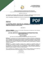 LEY DEL INSTITUTO CHIHUAHUENSE DE INFRAESTRUCTURA FÍSICA EDUCATIVA